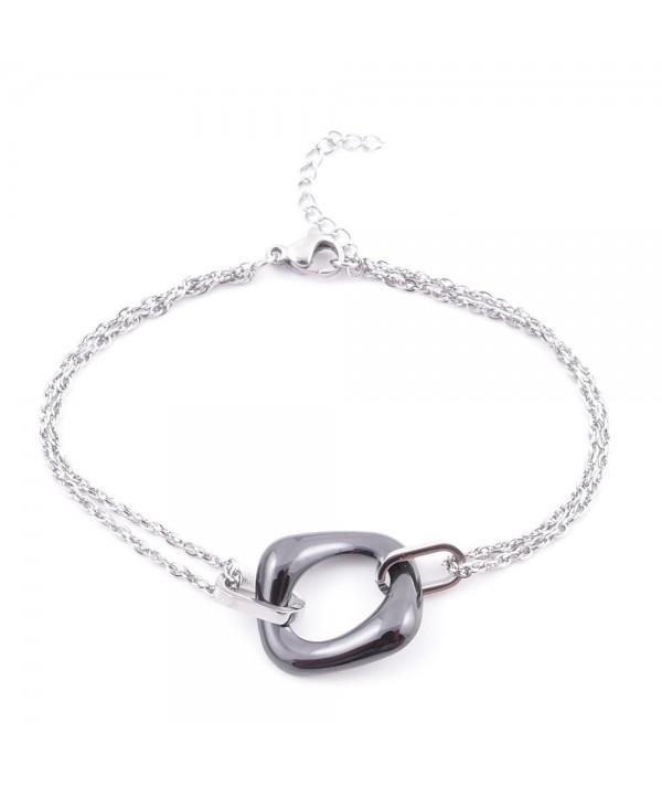 Elégant Bracelet en Acier...