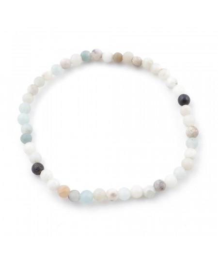 Elastic bracelet of natural...